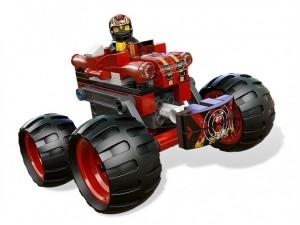 obrázek Lego 9092 Racers Bláznivý démon