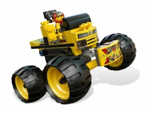 Lego 9093 Racers Drtič kostí