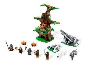obrázek Lego 79002 Hobbit Útok Orců