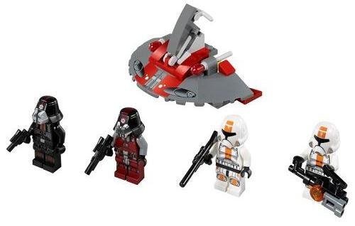 Lego 75001 Star Wars Vojáci republiky vs. Sithové
