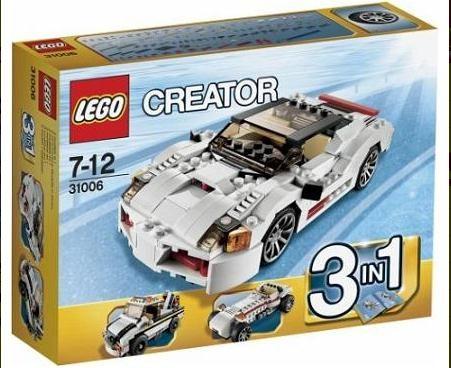 Lego 31006 Creator Závoďák