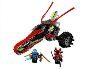obrázek Lego 70501 Ninjago Motorka bojovníka