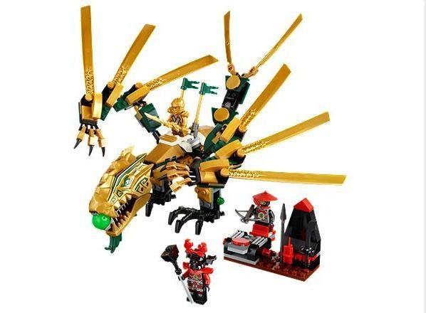Lego 70503 Ninjago Zlatý drak
