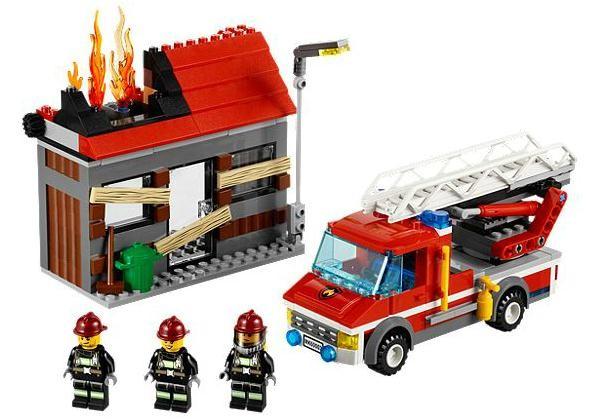 Lego 60003 City Hasičská pohotovost