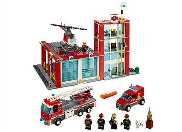 Lego 60004 City Hasičská stanice
