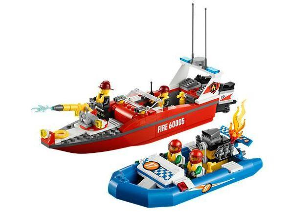 Lego 60005 City Hasičský člun