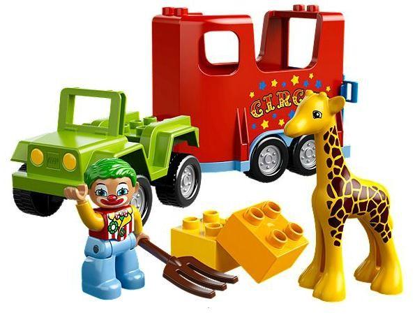 Lego 10550 Duplo Cirkusová přeprava