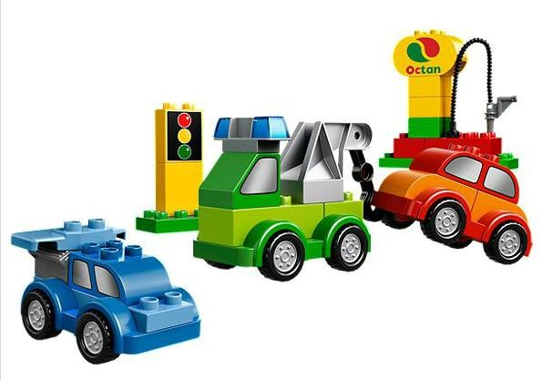 Lego 10552 Duplo Kreativní auta