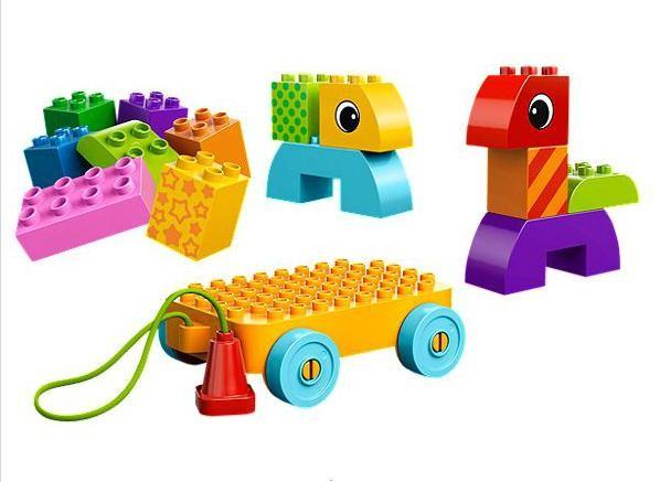 Lego 10554 Duplo Tahací kostky pro nejmenší