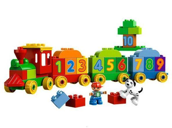 Lego 10558 Duplo Vláček s čísly