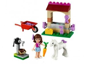 obrázek Lego 41003 Friends Oliviino hříbě