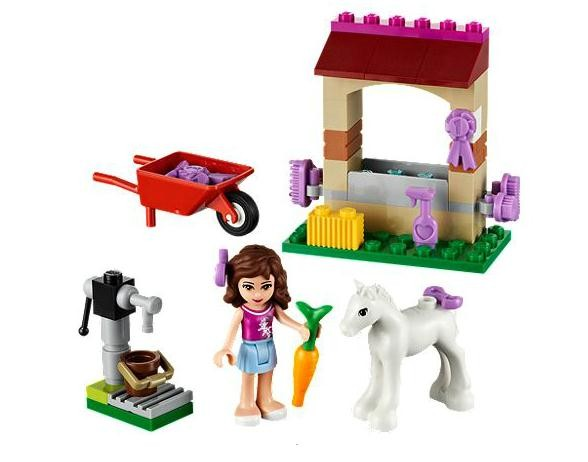 Lego 41003 Friends Oliviino hříbě