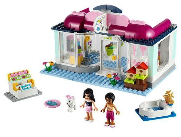 Lego 41007 Friends Zvířecí salon v Heartlake