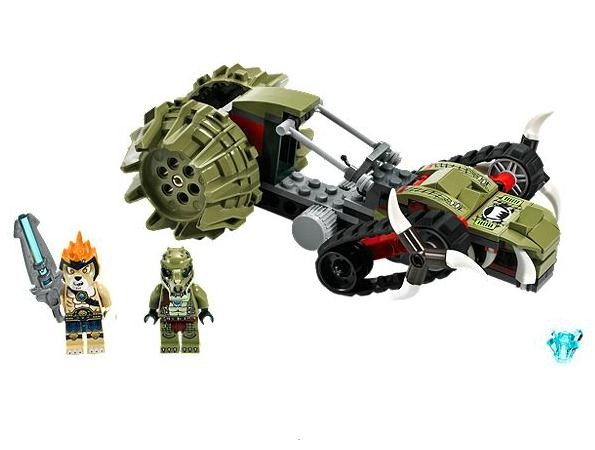 Lego 70001 Chima Crawleyho rozparovač