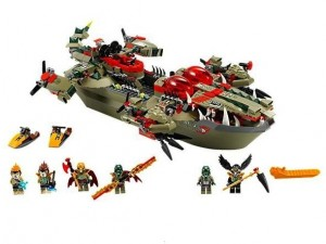 obrázek Lego 70006 Chima Craggerův krokodýlí člun