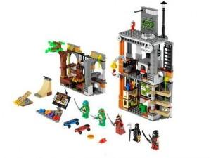 obrázek Lego 79103 Želvy Ninja Útok na doupě