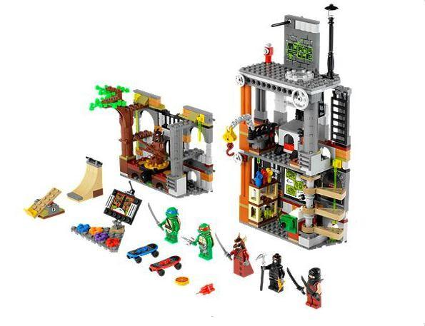 Lego 79103 Želvy Ninja Útok na doupě