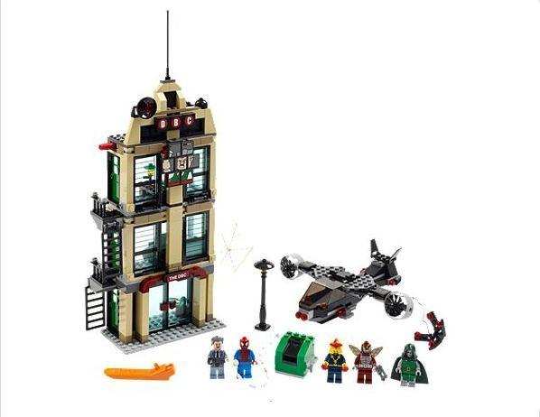Lego 76005 Super Heroes Spiderman - zúčtování