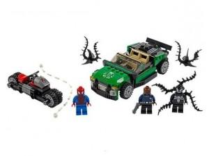 obrázek Lego 76004 Super Heroes Spiderman - pavoučí pronásledování