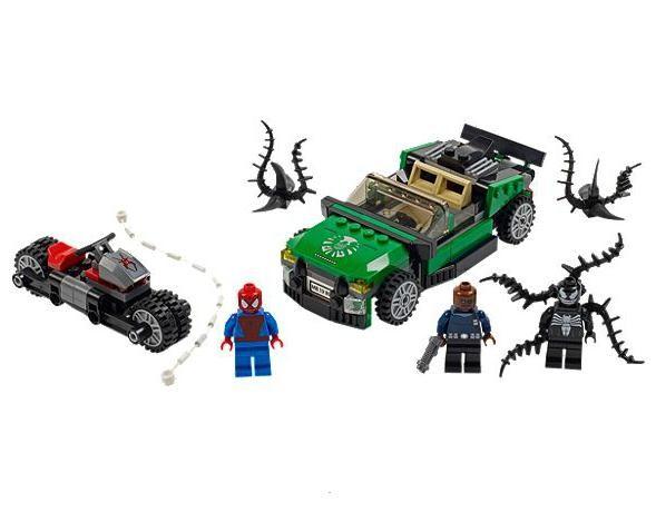 Lego 76004 Super Heroes Spiderman - pavoučí pronásledování
