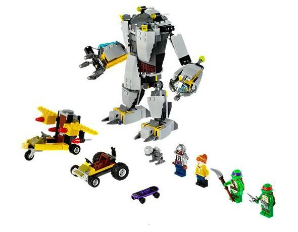 Lego 79105 Želvy Ninja Baxterův běsnící robot