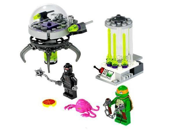 Lego 79100 Želvy Ninja Krankova laboratoř