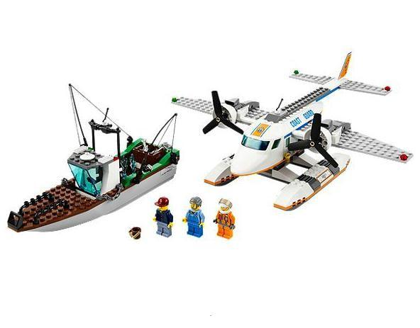 Lego 60015 City Letadlo pobřežní stráže