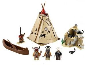 obrázek Lego 79107 Lone Ranger Tábor Komančů