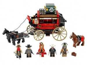 obrázek Lego 79108 Lone Ranger Přepadení dostavníku