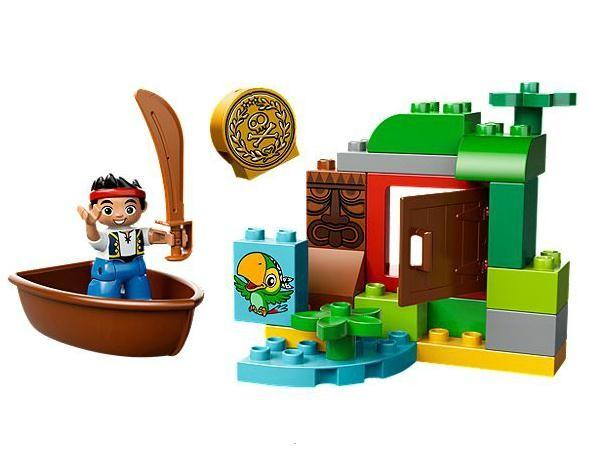 Lego 10512 Duplo Pirát Jake Lovec pokladů