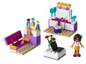 obrázek Lego 41009 Friends Andrein pokoj