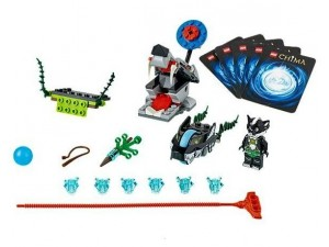 obrázek Lego 70107 Chima Útok skunků