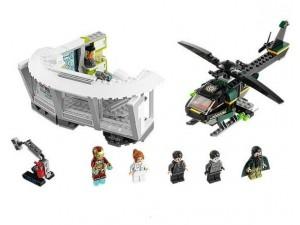 obrázek Lego 76007 Super Heroes Iron Man: Malibu Mansion a