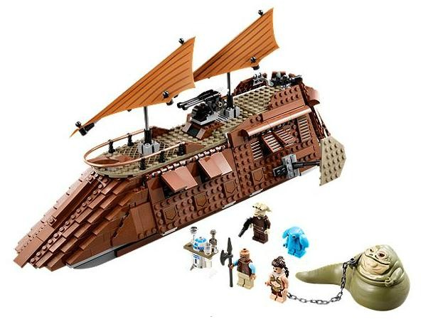 Lego 75020 Star Wars Jabbův člun