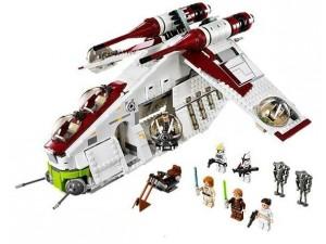 obrázek Lego 75021 Star Wars Bitevní loď Republiky