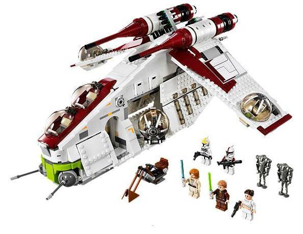 Lego 75021 Star Wars Bitevní loď Republiky