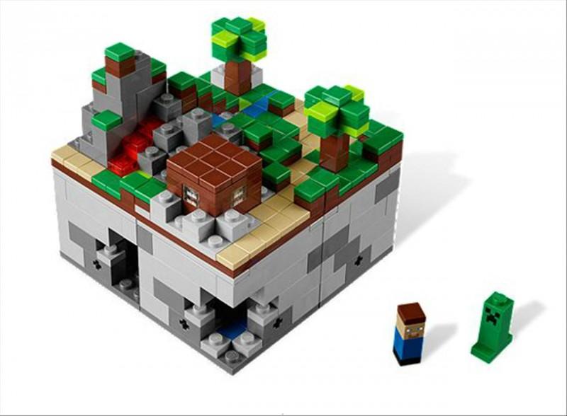 Lego 21102 Minecraft