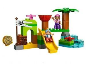 Lego 10513 Duplo Pirát Jake Skrýš Země Nezemě