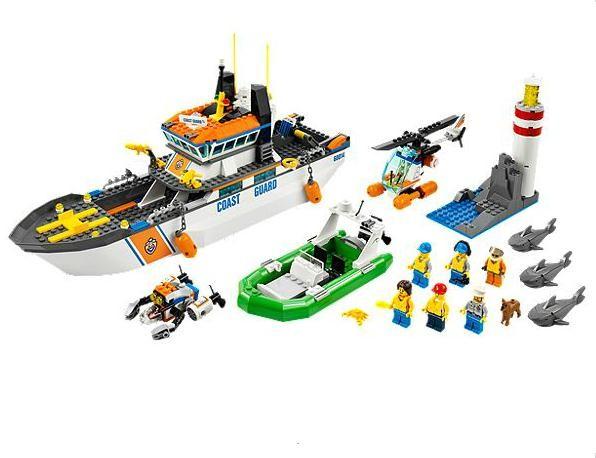 Lego 60014 City Pobřežní patrola