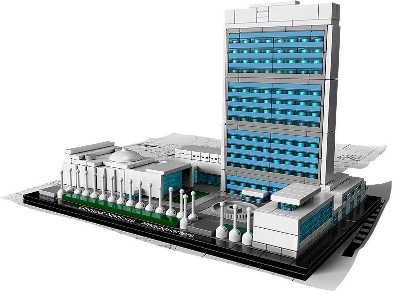 Lego 21018 Architecture Sídlo OSN