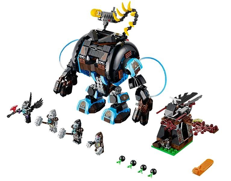 Lego 70008 Chima Gorzanův gorilí útočník