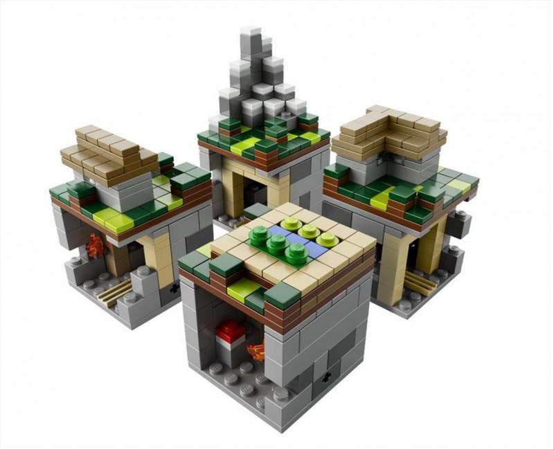 Lego 21105 Minecraft The Village Dzunglehracek Cz Lego