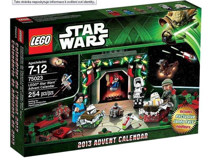 Lego 75023 Adventní kalendář Lego® Star Wars™
