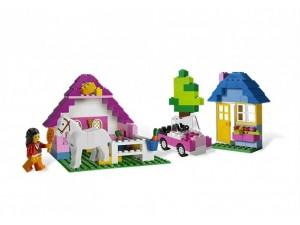 obrázek Lego 5560 CREATOR Velký růžový box s kostkami