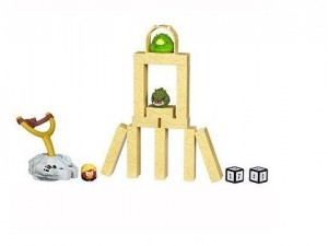 obrázek Angry Birds Jenga