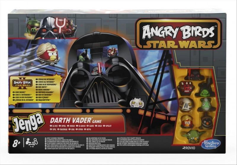 Společenská hra Angry Birds Jenga darth vader