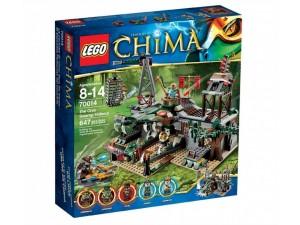 obrázek Lego 70014 Chima Crocova skrýš v bažině