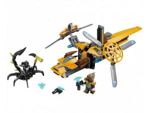 obrázek Lego 70129 Chima Lavertusův dvojvrtulník