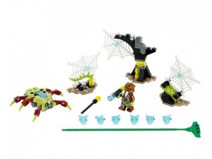 obrázek Lego 70138 Chima Pavučinový útěk