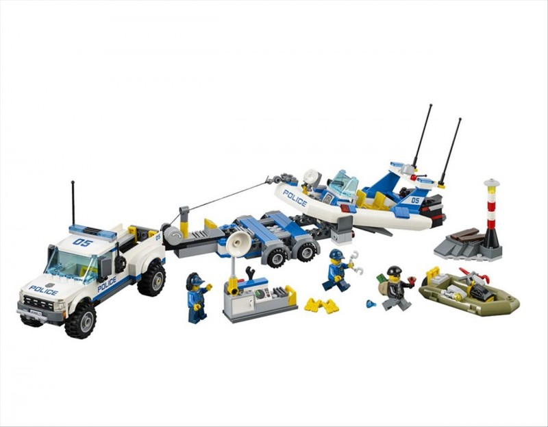 Lego 60045 City Policejní hlídka